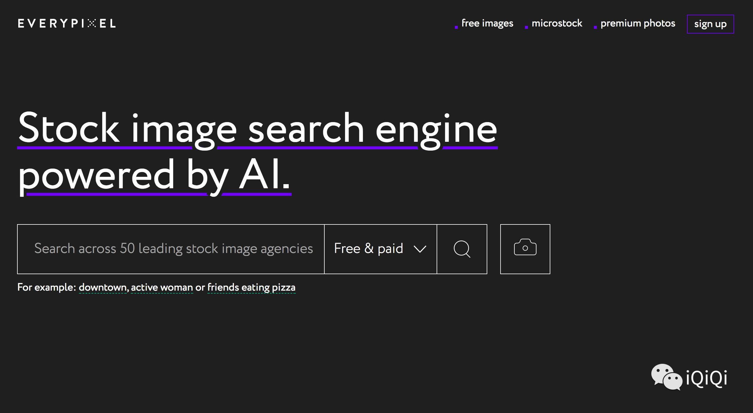 6个免费无版权可商用的图片搜索引擎!-iQiQi