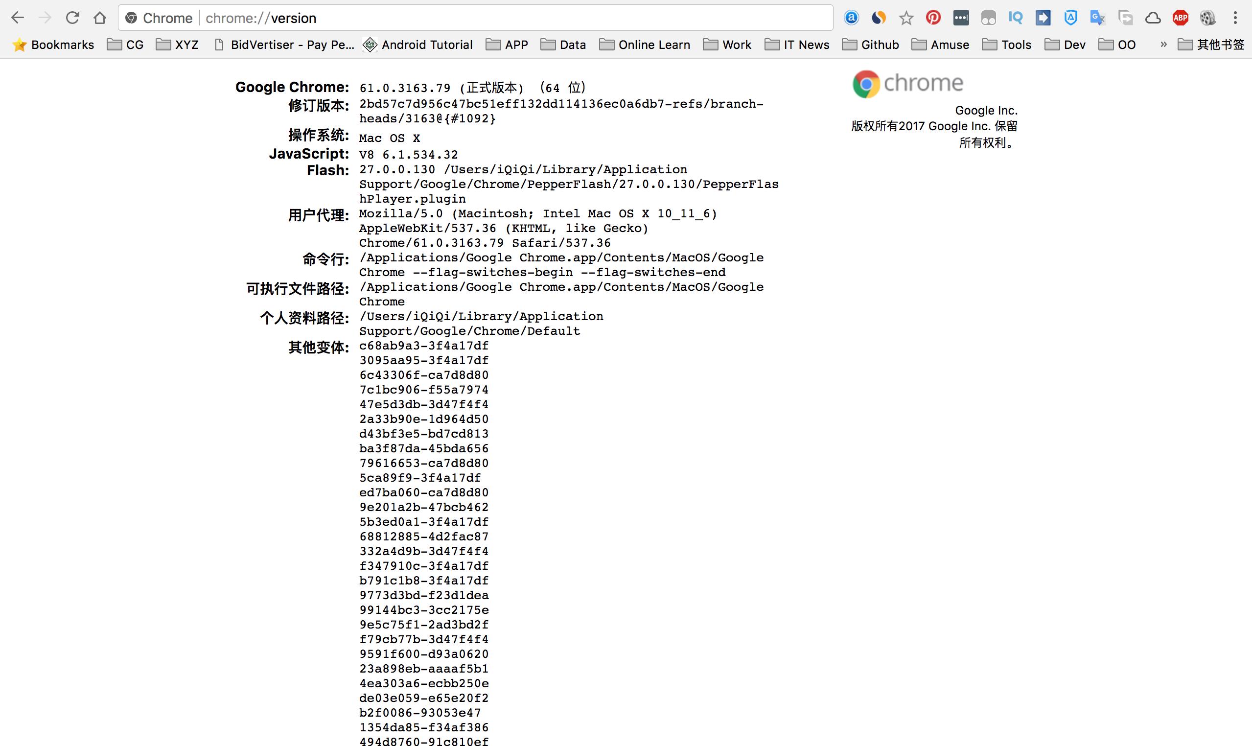 Google Chrome浏览器中你必须知道的的一些使用命令!-iQiQi