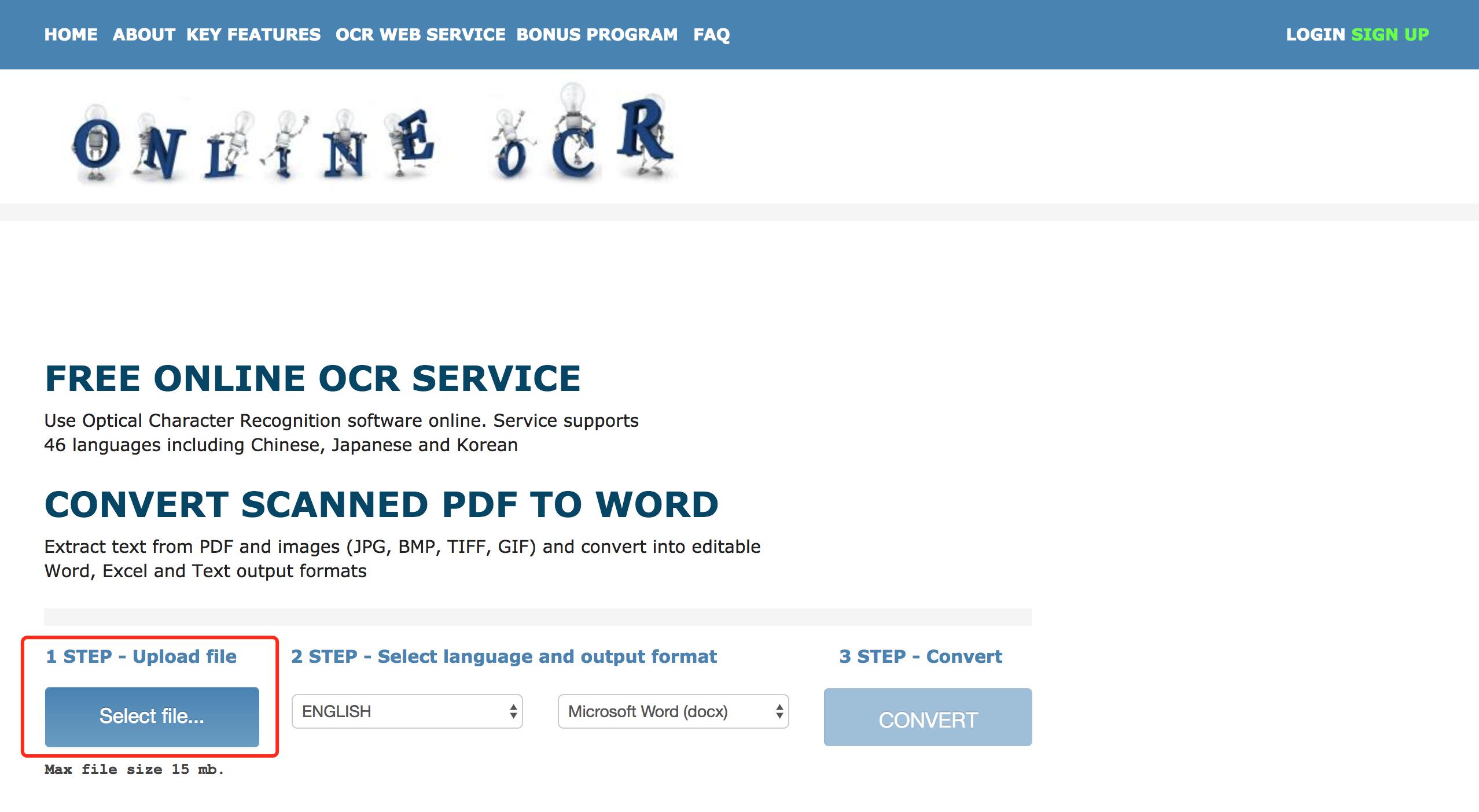 在线免费OCR文字识别服务,一键识别PDF或JPG并转换成文字!-iQiQi
