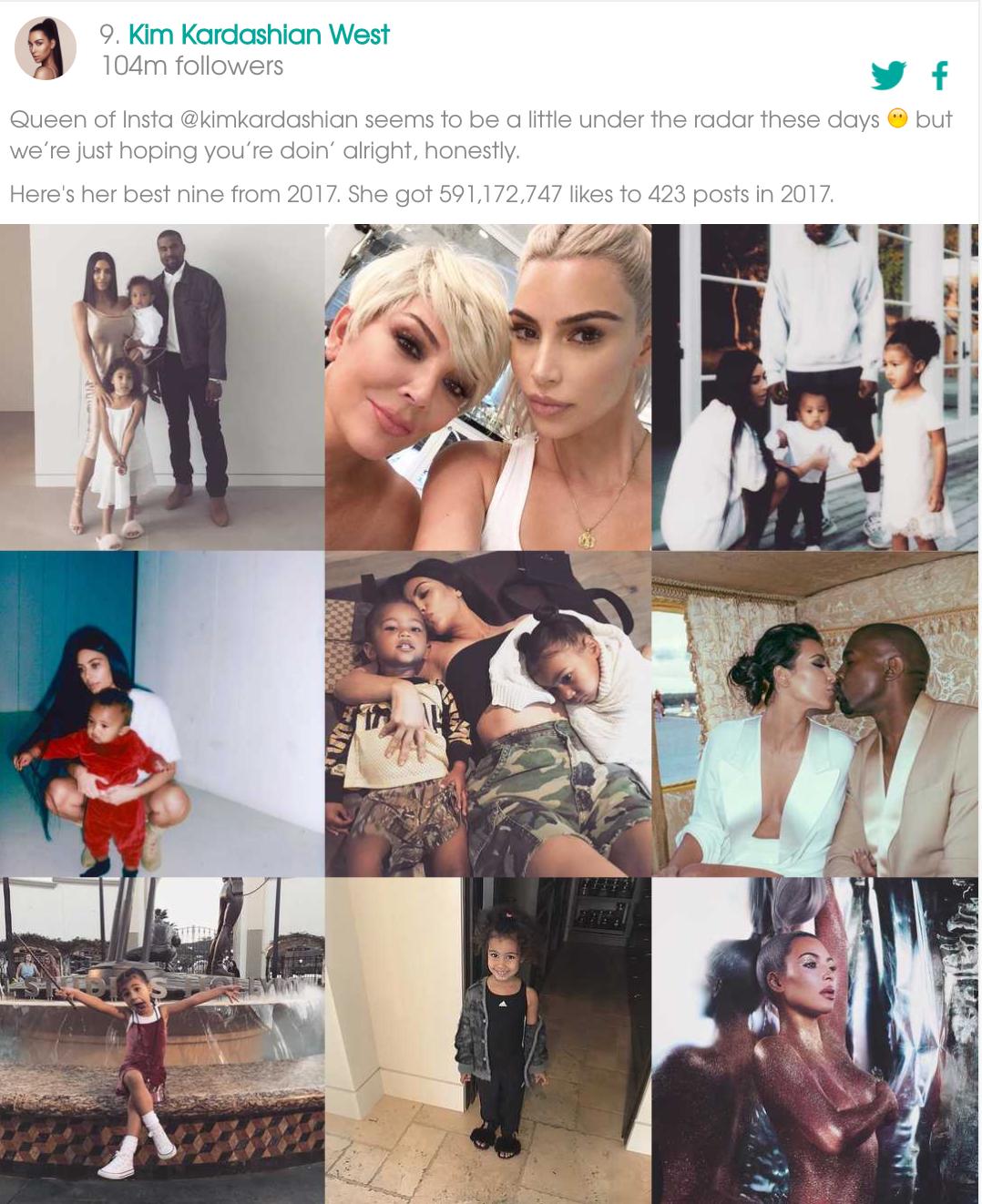 Instagram 2017年度最佳热门图片TOP 9 !-iQiQi