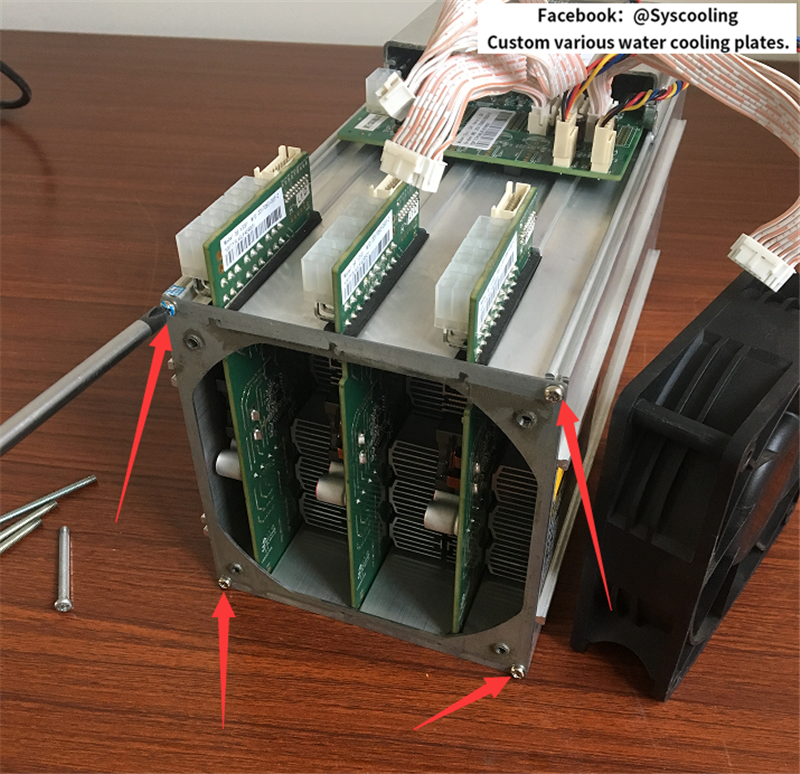 Bitmain S9 Troubleshooting Cooling Antminer S7 With Mineral Oil