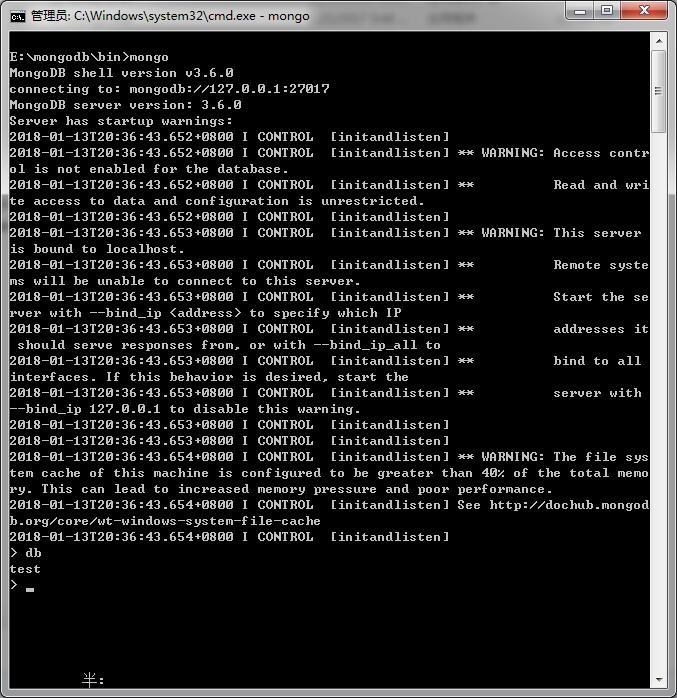 MongoDB 安装及 java使用案例