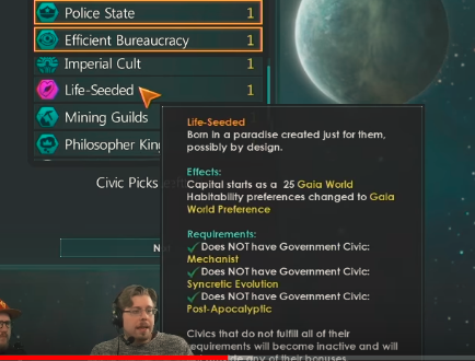 Stellaris Dev Diary #103 - Civic/Ascension Perks Changes and