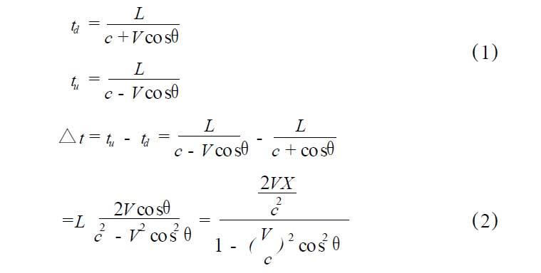 超声波流量计原理