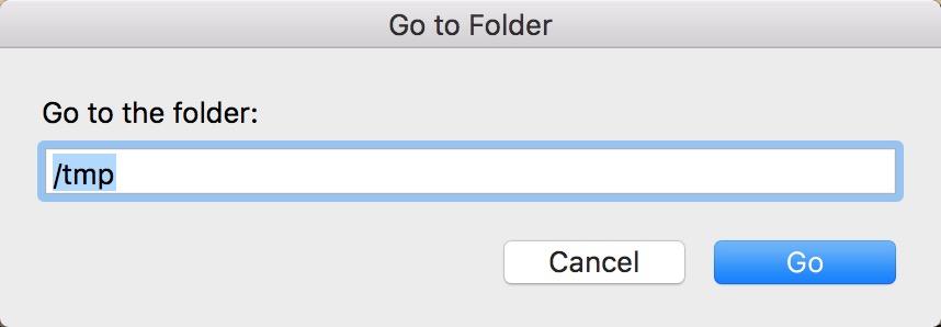 前往tmp文件夹
