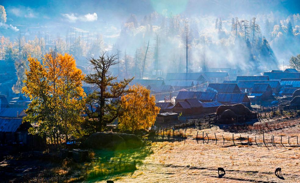 新疆禾木旅游
