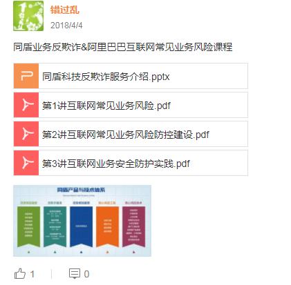 【安全产品】业务安全风控资料介绍
