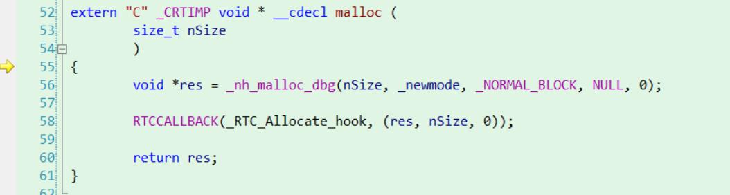 malloc函数的定义