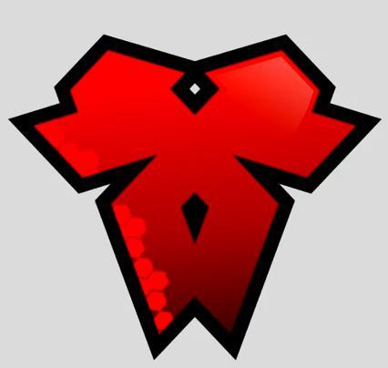 如何用 CorelDRAW 制作帅气的红色logo