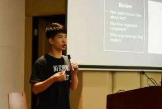 英语辩论给中国孩子带来了什么?