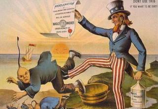 """美国当年出台""""排华法案"""",其真实原因是什么?"""