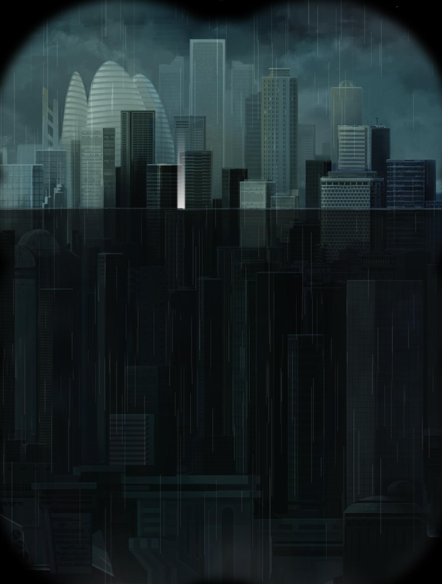 经我处理的《雨纪》场景图,原图截取于游戏中