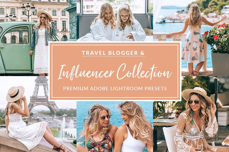 【S402】15个旅行冒险Lightroom预设集合 15 The Travel Influencer Lightroom Pack
