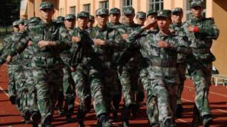 特种兵军训足球队 中国冲刺卡塔尔世界杯