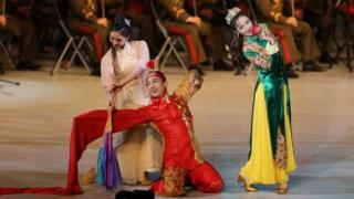 多名中国演艺明星访朝 文艺交流背后的政治信号