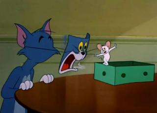 没有什么烦恼是一集《猫和老鼠》解决不了的