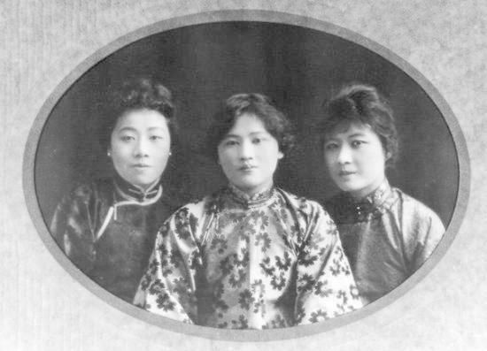 宋氏三姐妹的合影