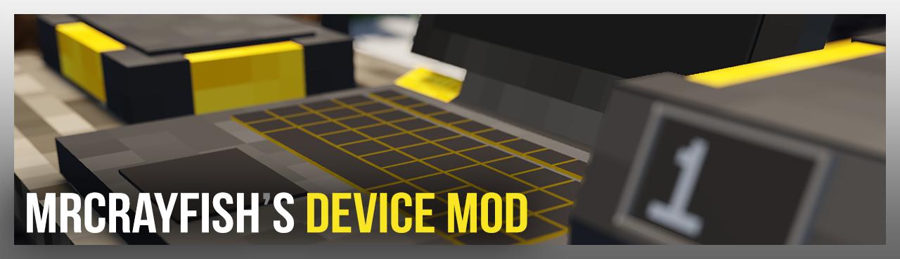MrCrayfish的设备, MrCrayfish's Device Mod-第1张图片