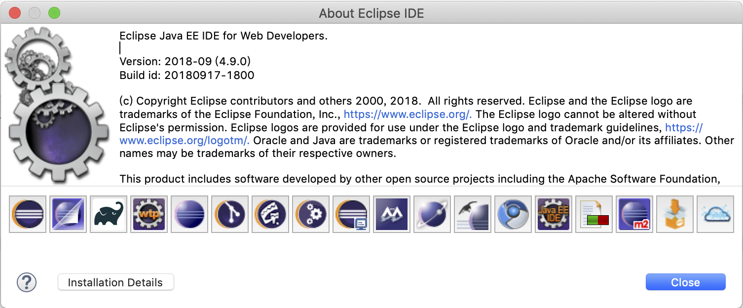 Eclipse Java EE IDE for Web Developers
