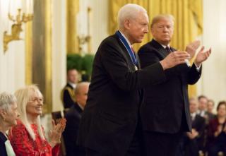 特朗普总统为七位杰出的美国人颁奖