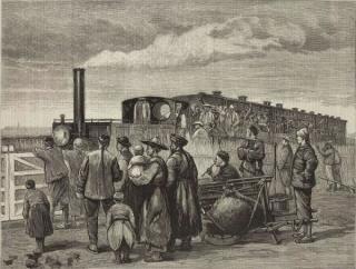 刘锡鸿:大清自有精神火车,不需要建造铁路