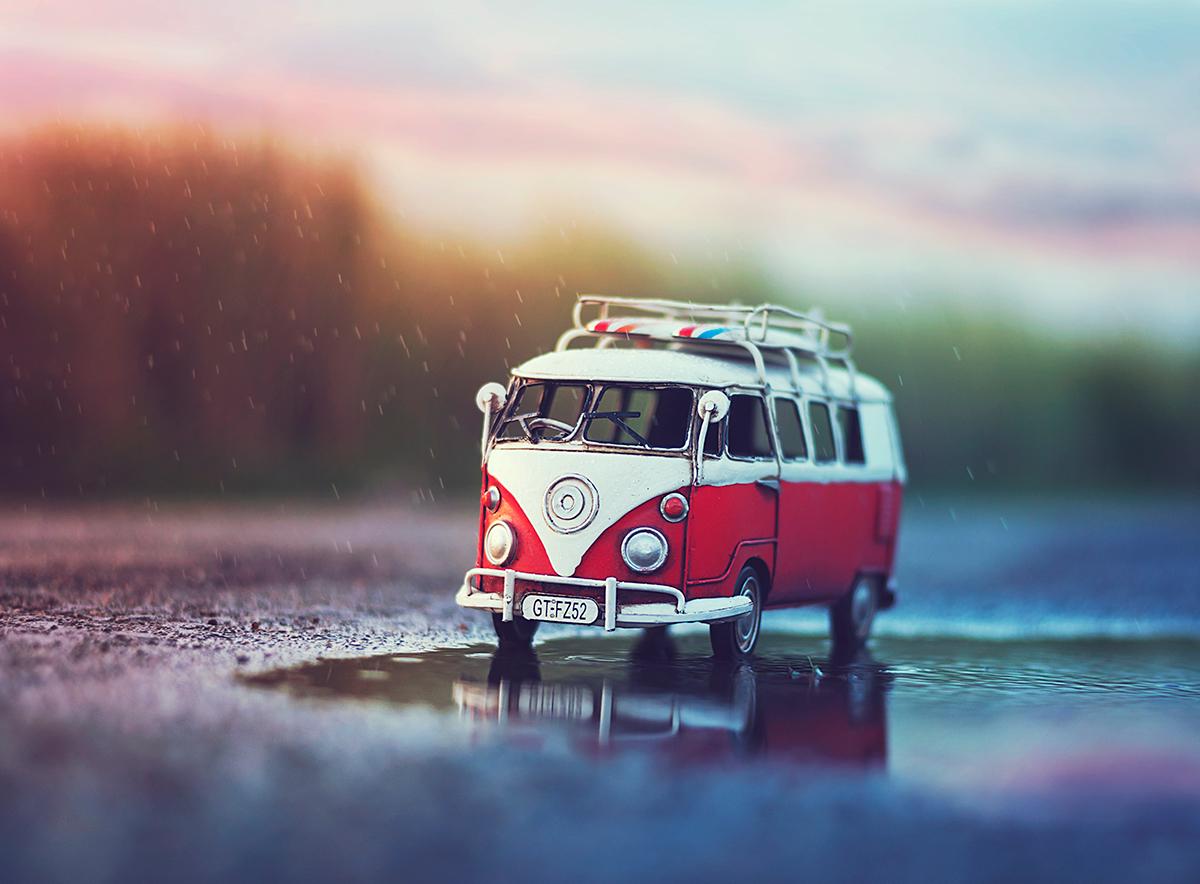 超级唯美的微型迷你车摄影