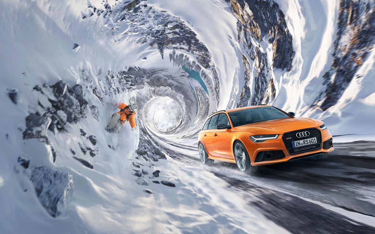 观赏《雪地里的奥迪Quattro》