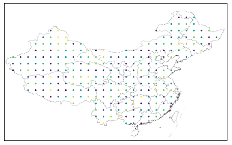 Two method to mask the raster data by specific geometry - 太平塔