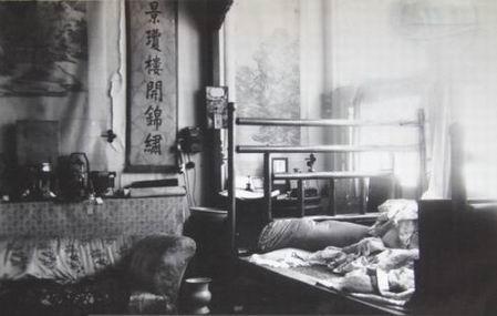 1924年,末代皇帝溥仪被逐出紫禁城时的情形