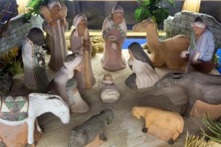 华盛顿国家大教堂展出圣诞模型作品