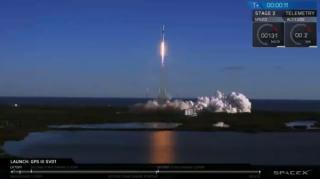 首颗第三代GPS卫星发射升空