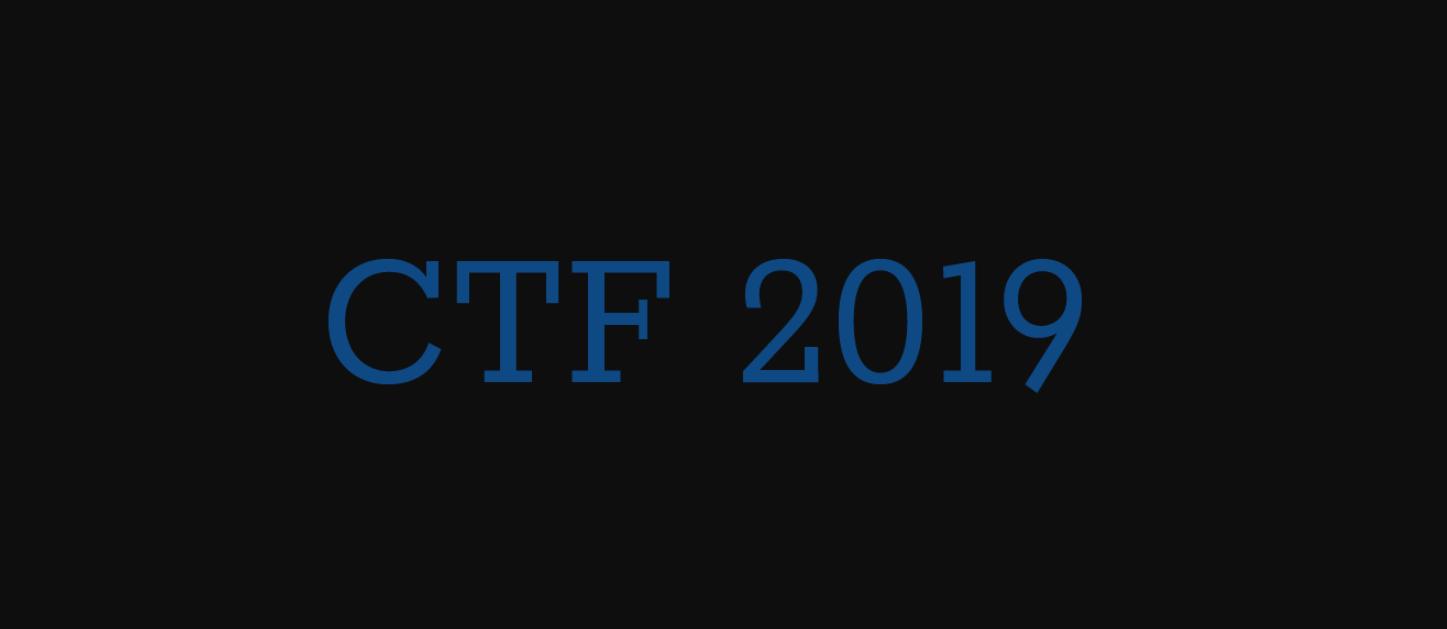 GXYCTF2019&GWCTF2019——Writeup