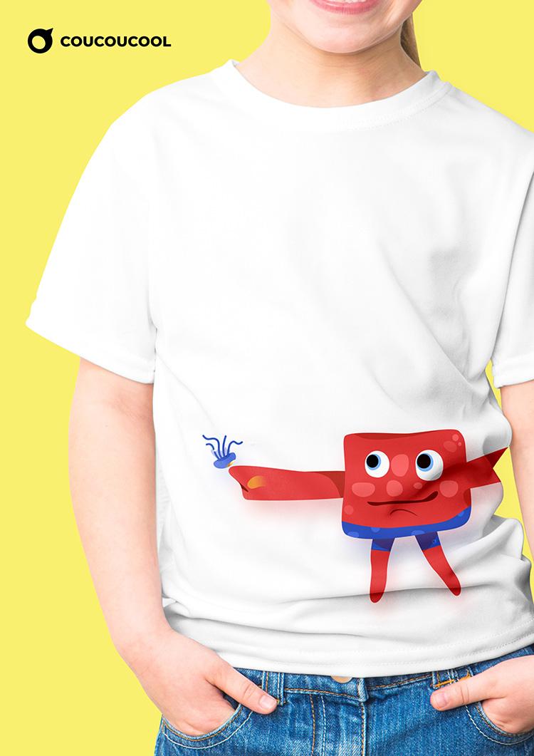 T-shirt应用