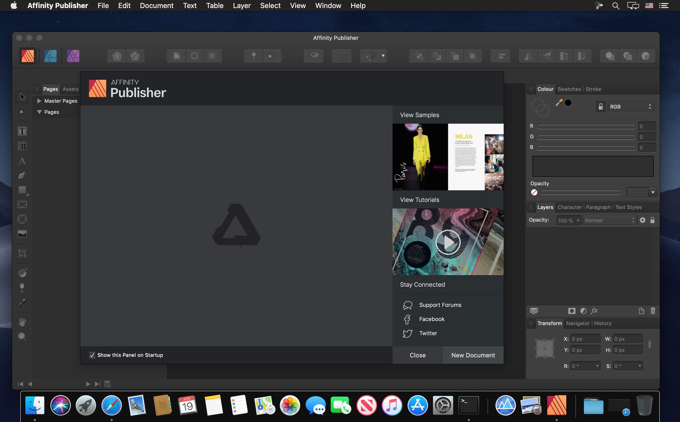 「macOS」Affinity Publisher 破解版下载 图形设计 V1.8.2插图(1)