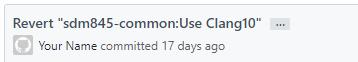 Git 用户名和邮箱不要使用示例