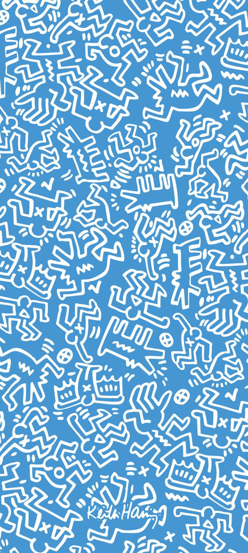 Redmi × Keith Haring手机壁纸发布:和联名款保护壳配套