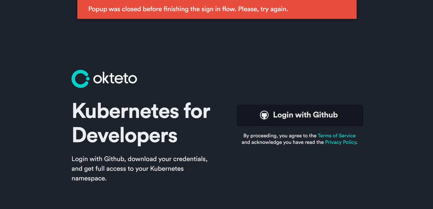 okteto是不是被撸废了插图