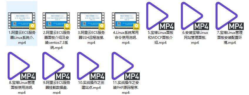 服务器Linux宝塔安装视频教程
