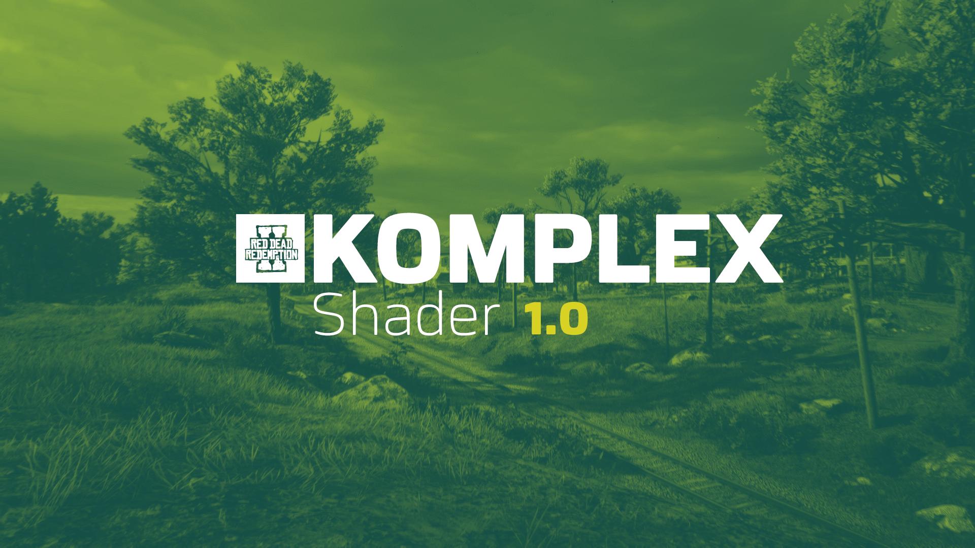 画面增强KOMPLEX Shader