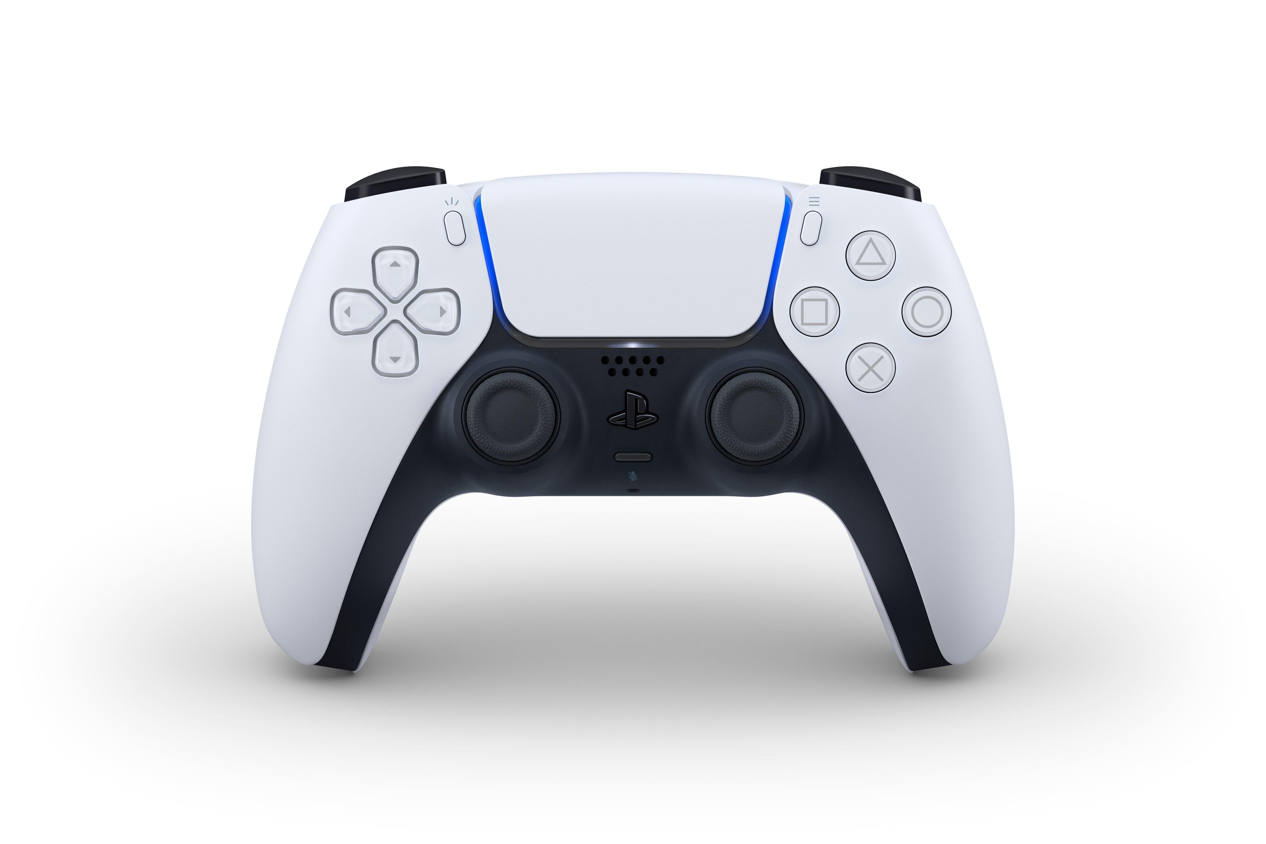 GTA6主机平台PS5手柄外观公布 白色