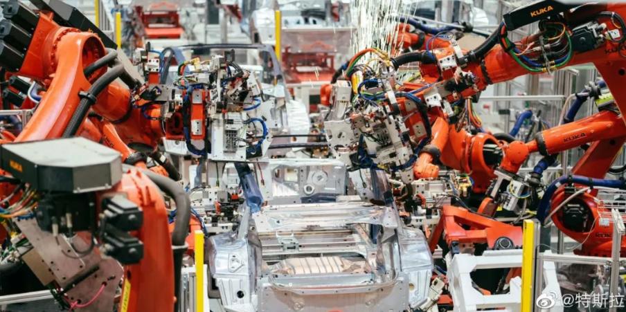 刚刚!特斯拉官方首度曝光了上海超级工厂,全方位展示了上海超级工厂总装车间、涂装车间和焊装车间等车间