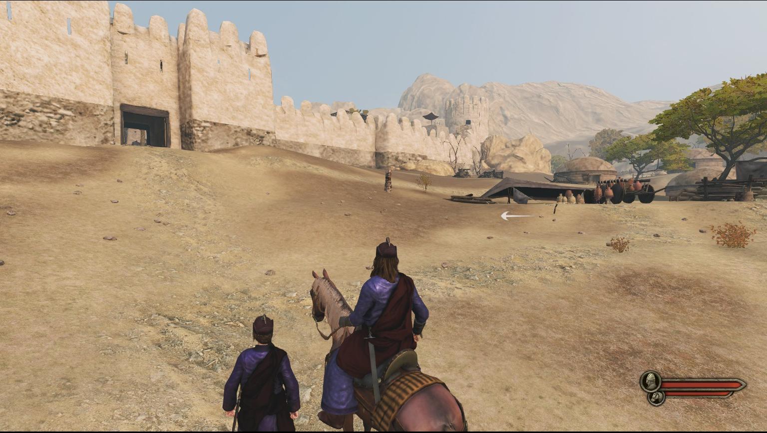 自带马匹进城[Enter Castle and Town with a Horse]