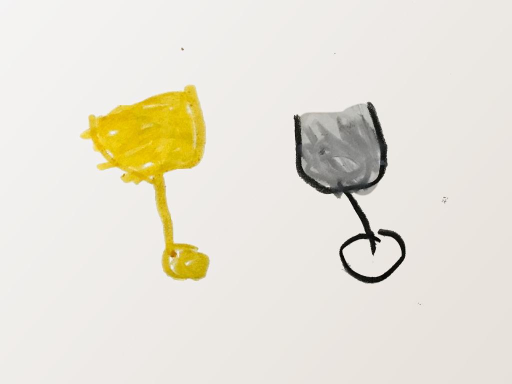 年轻人,你掉的杯子是金色的还是银色的?