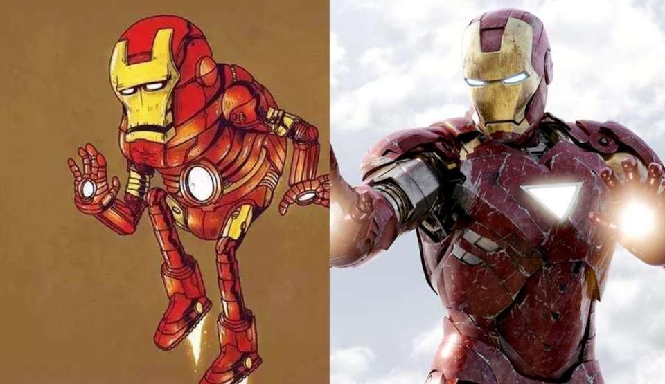 """超级英雄""""老龄化"""":雷神索尔又老又丑"""