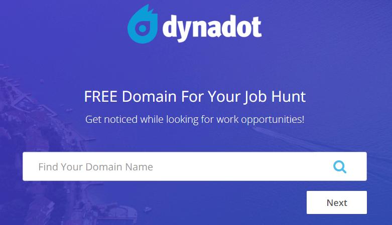 Dynadot: 免费一年顶级域名 .me / .life 等