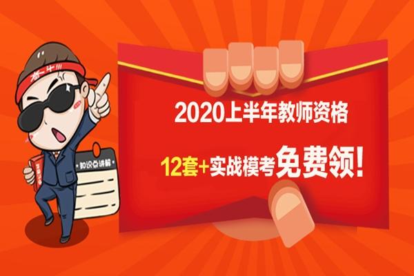 51公考上岸网-2020教师资格证《历年试卷+模拟试卷》