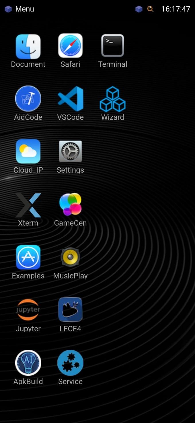 手机GUI界面