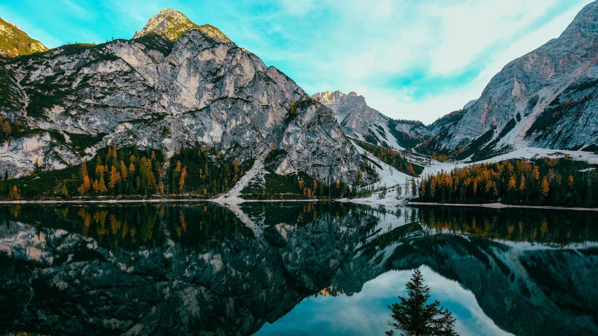 mountain-nature-lake-landscape-scenery-8K