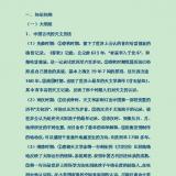 中国古代科技史专题高考知识点汇总Word文档下载