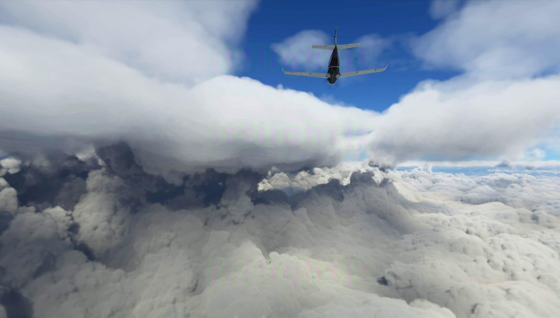 《微软飞行模拟》新实机截图再来袭:展现飞行时的宏大环境场面
